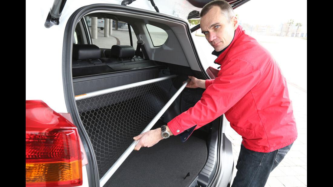 Toyota RAV4, Kofferraum, Diagonale