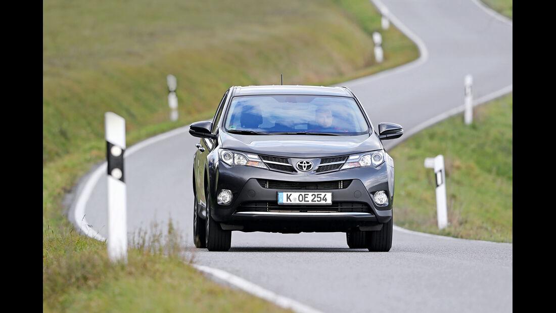 Toyota RAV4, Kraftstoffverbrauch