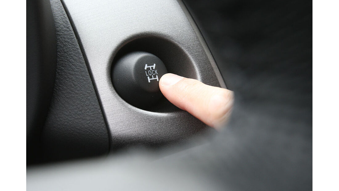 Toyota RAV4, Lock-Taste, Allradantrieb