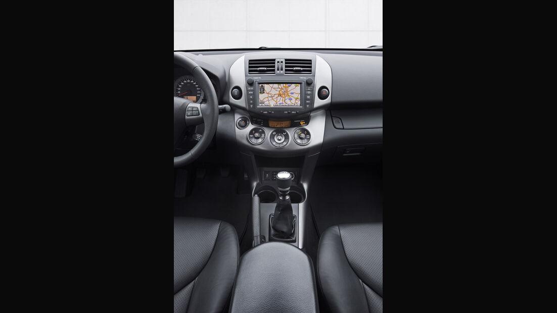 Toyota RAV4, Mittelkonsole