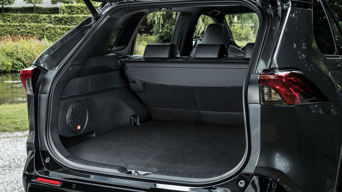 Toyota RAV4 Plug-in, Kofferraum