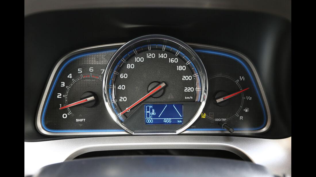 Toyota RAV4, Rundinstrumente
