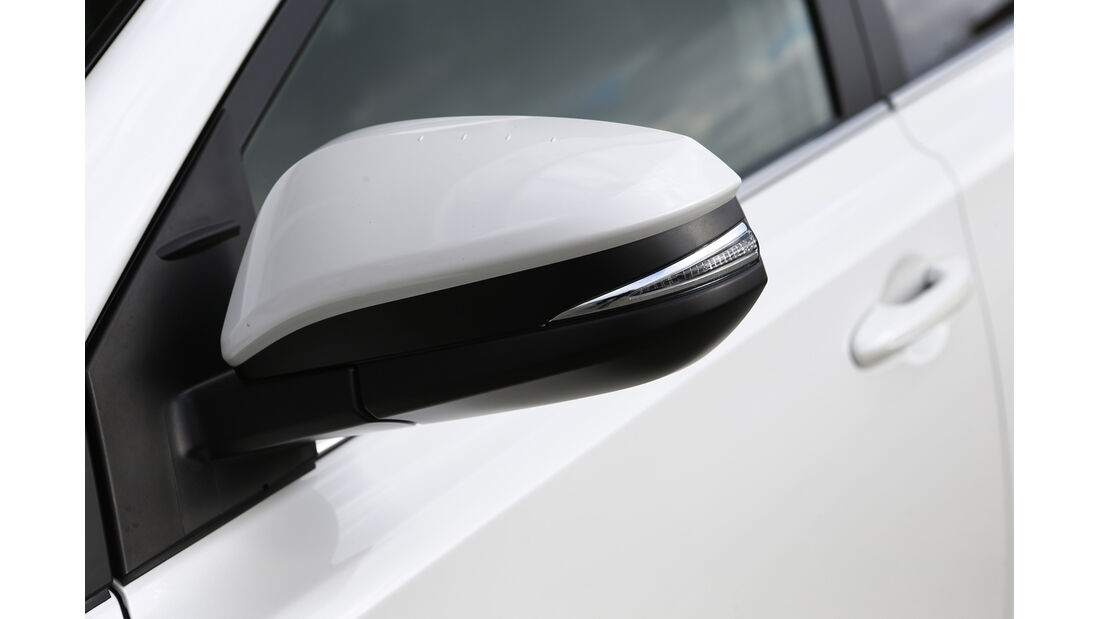 Toyota RAV4, Seitenspiegel