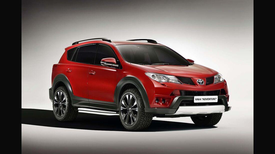 Toyota RAV4 Studien Premium und Adventure Autosalon Genf 2013