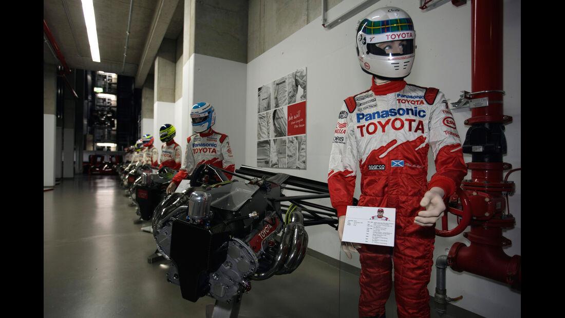 Toyota, Rennausrüstung