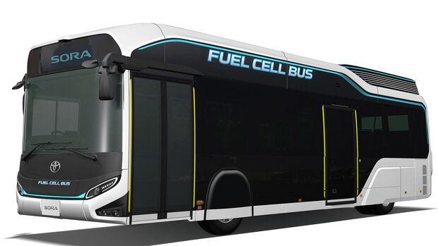 Toyota Sora Brennstoffzellen-Bus Tokyo Motor Show 2017