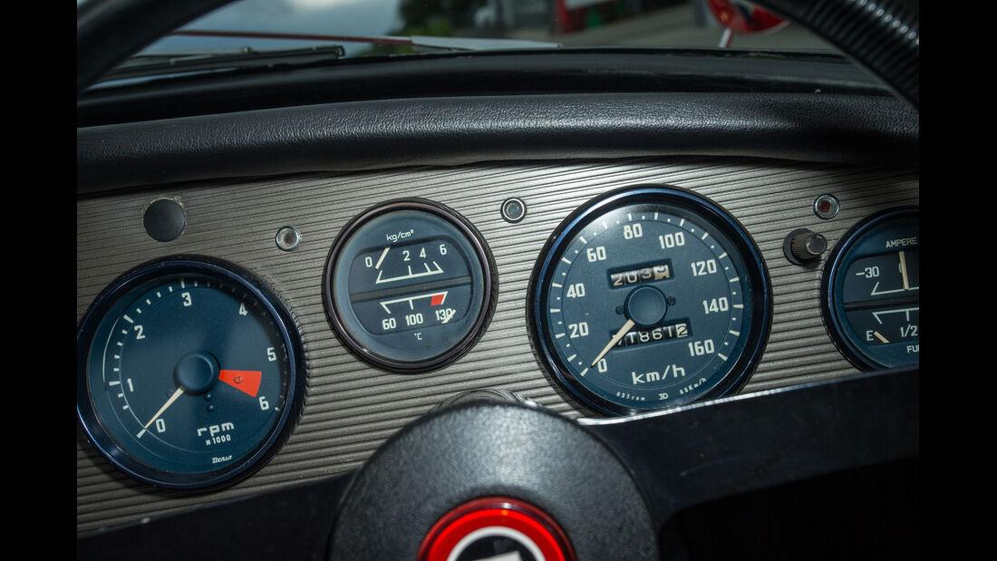 Toyota Sports 800, Rundinstrumente