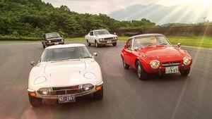 Toyota Sports 800, Toyota 2000GT, Toyota Celica, Toyota Sprinter Trueno