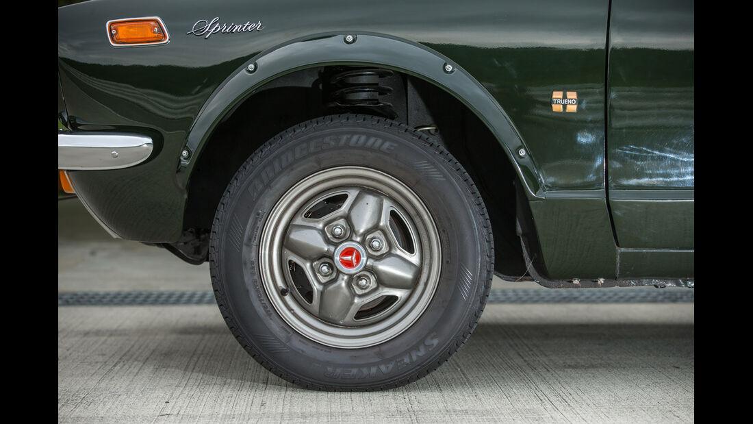 Toyota Sprinter Trueno, Rad, Felge