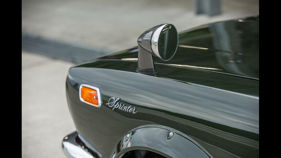 Toyota Sprinter Trueno, Rückspiegel