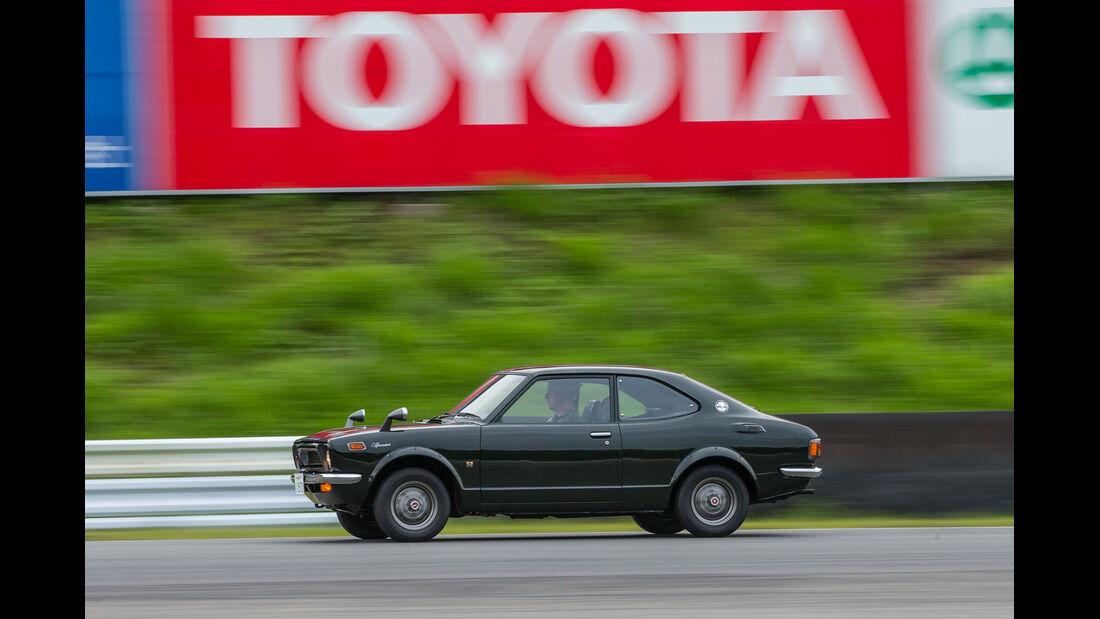 Toyota Sprinter Trueno, Seitenansicht