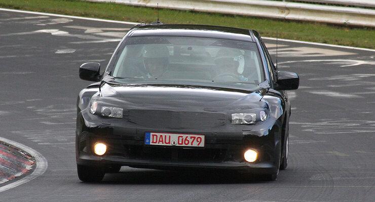 Toyota/Subaru Sportwagen Erlkönig