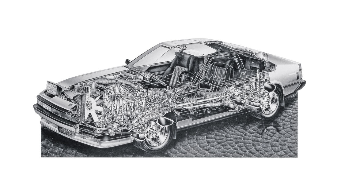 Toyota Supra 3.0i Turbo, Durchsicht