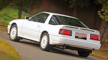 Toyota Supra 3.0i Turbo, Heckansicht