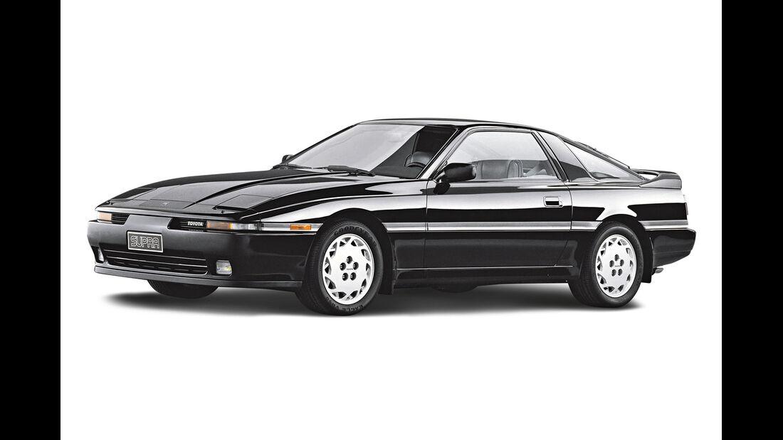 Toyota Supra 3.0i Turbo, Seitenansicht