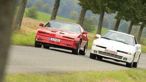 Toyota Supra 3.0i Turbo und Pontiac Trans AM GTA
