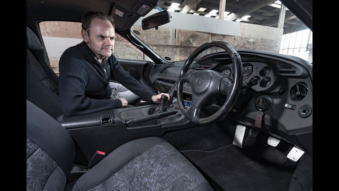Toyota Supra, Cockpit