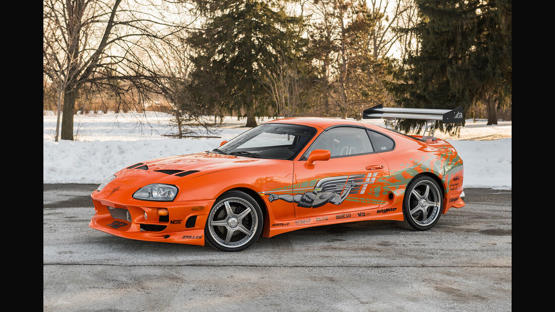 Toyota Supra, Fast and Furious, Paul Walker, 1993, 2001