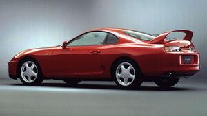 Toyota Supra MK4 Spoiler Klassiker