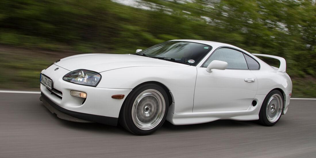 Toyota Supra, Seitenansicht