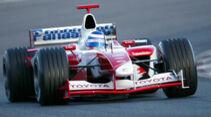 Toyota TF103 - Barcelona - 2003