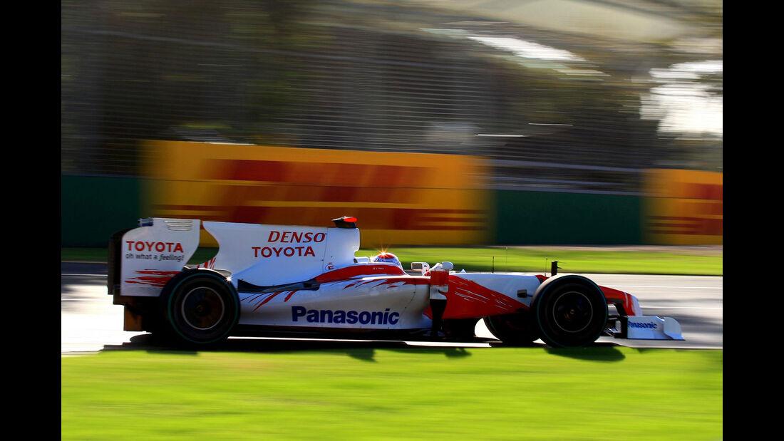 Toyota TF109 - Jarno Trulli - F1 2009