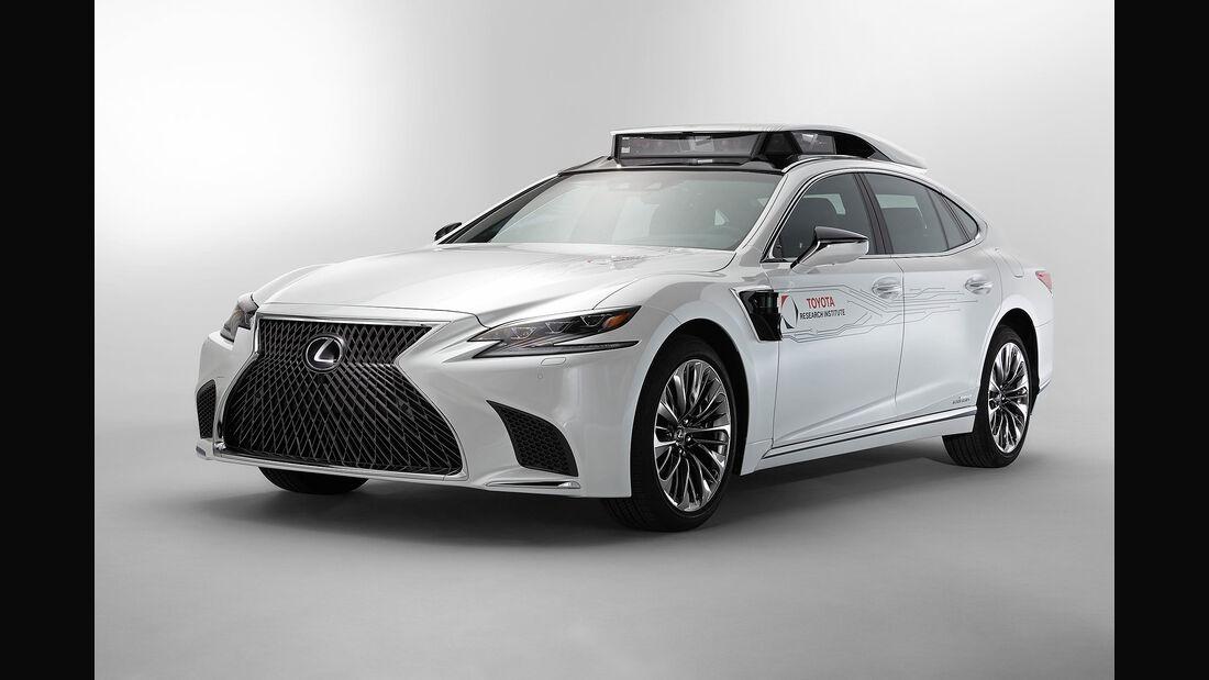 Toyota TRI-P4 Lexus LS 500h autonomes Fahren