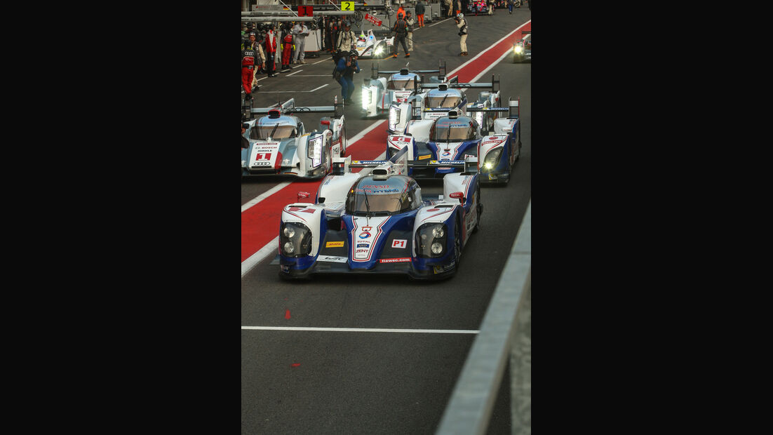 Toyota TS030, Frontansicht