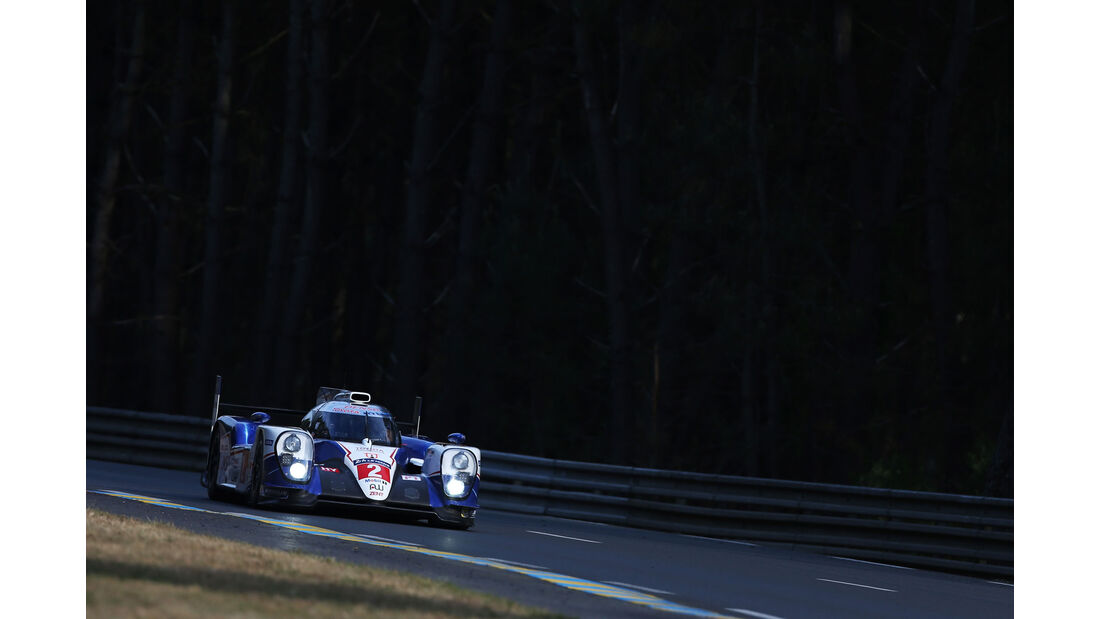 Toyota TS040 Hybrid - Startnummer #2 - 24h-Rennen Le Mans 2015 - Donnerstag - 12.6.2015
