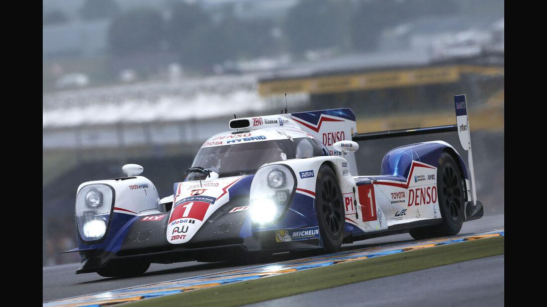 Toyota TS040 - Le Mans-Vortest 2015