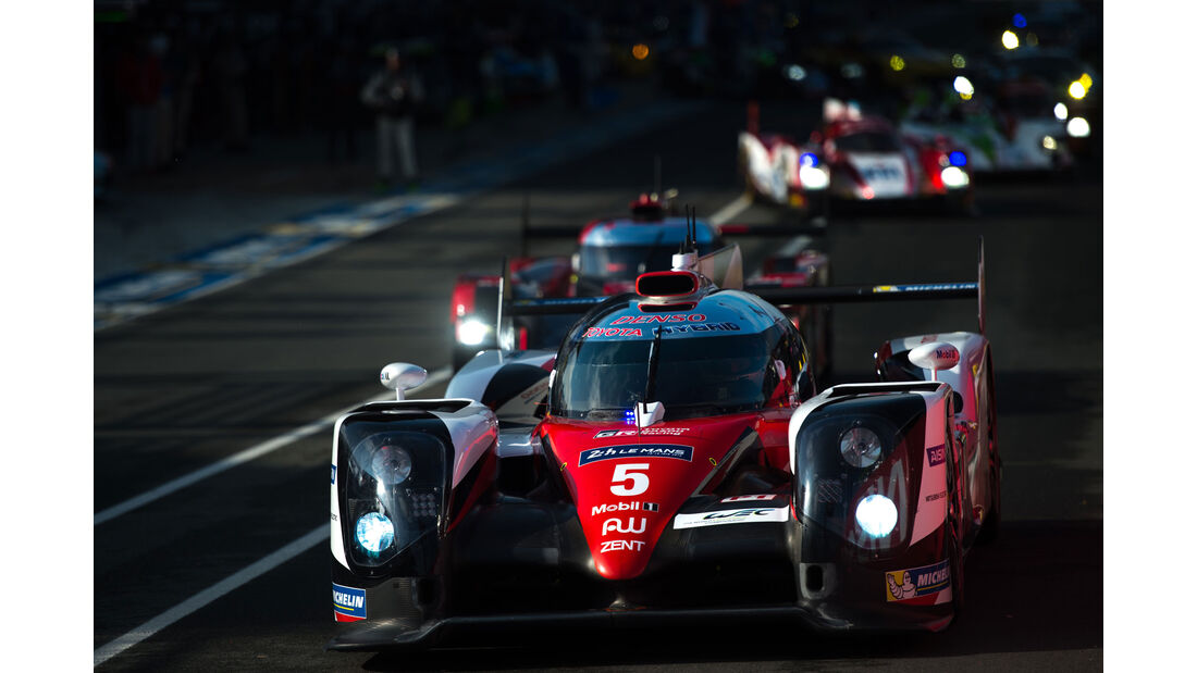 Toyota TS050 - #5- 24h Le Mans - Samstag - 18.06.2016