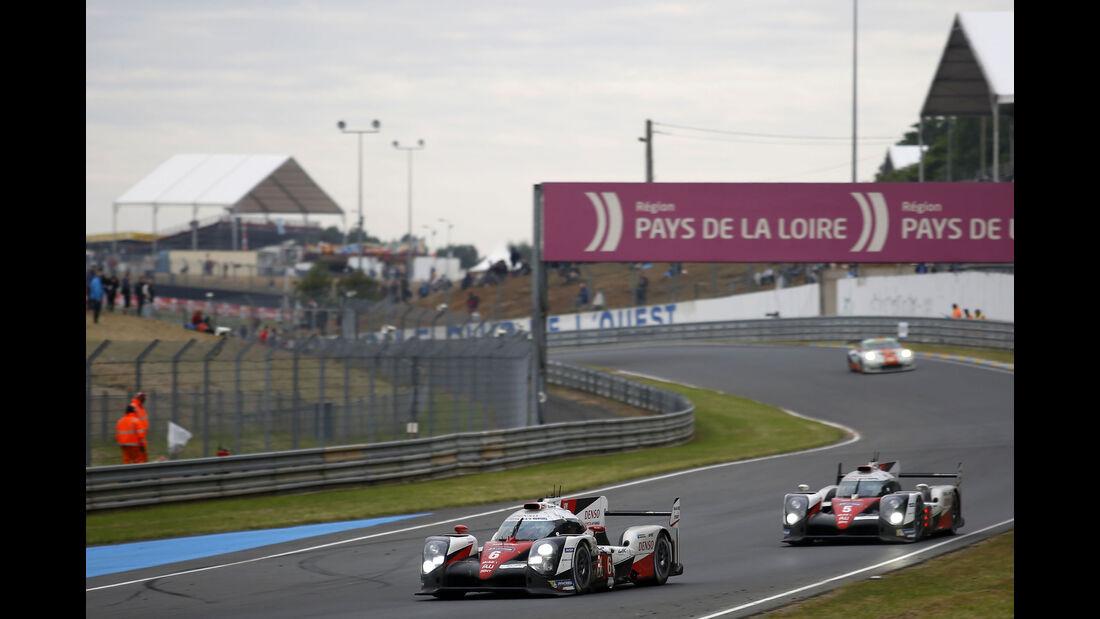 Toyota TS050 - #5 - #6 - 24h Le Mans - Sonntag - 19.06.2016