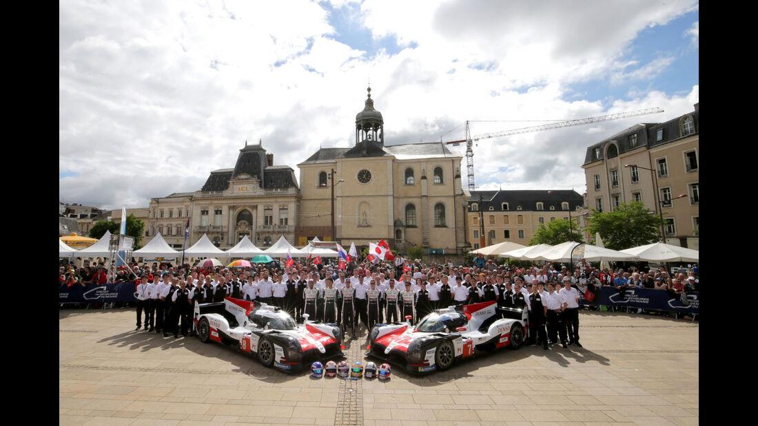Toyota TS050 Hybrid - 24h Le Mans 2018 - Scrutineering