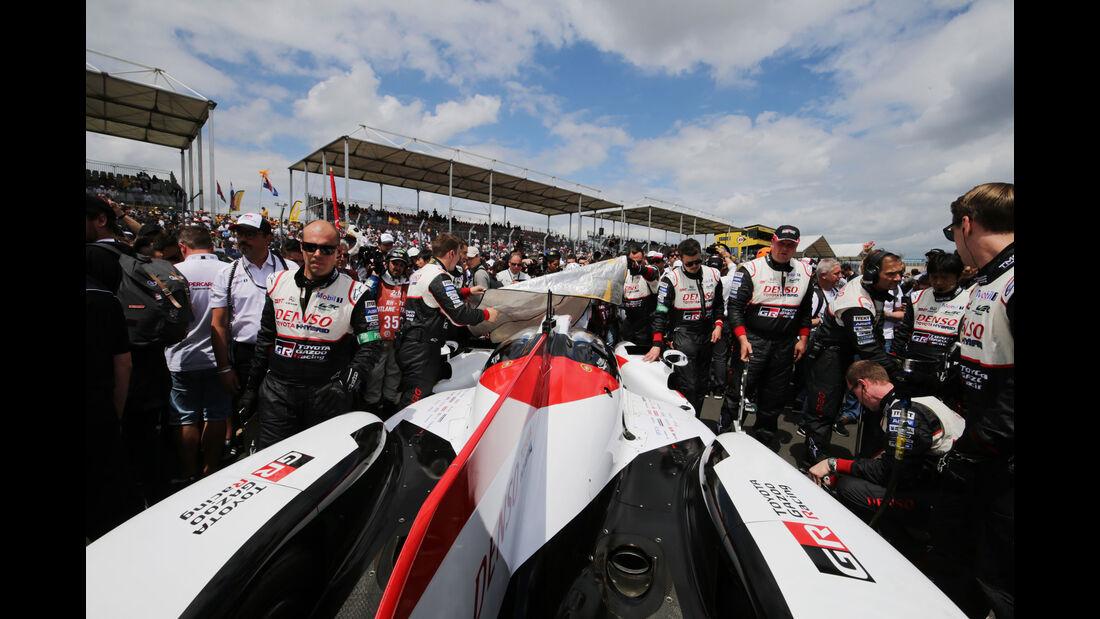 Toyota TS050 Hybrid - 24h-Rennen Le Mans 2018 - Samstag - 16.6.2018