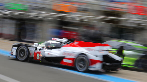 Toyota TS050 Hybrid - Le Mans - Vortest