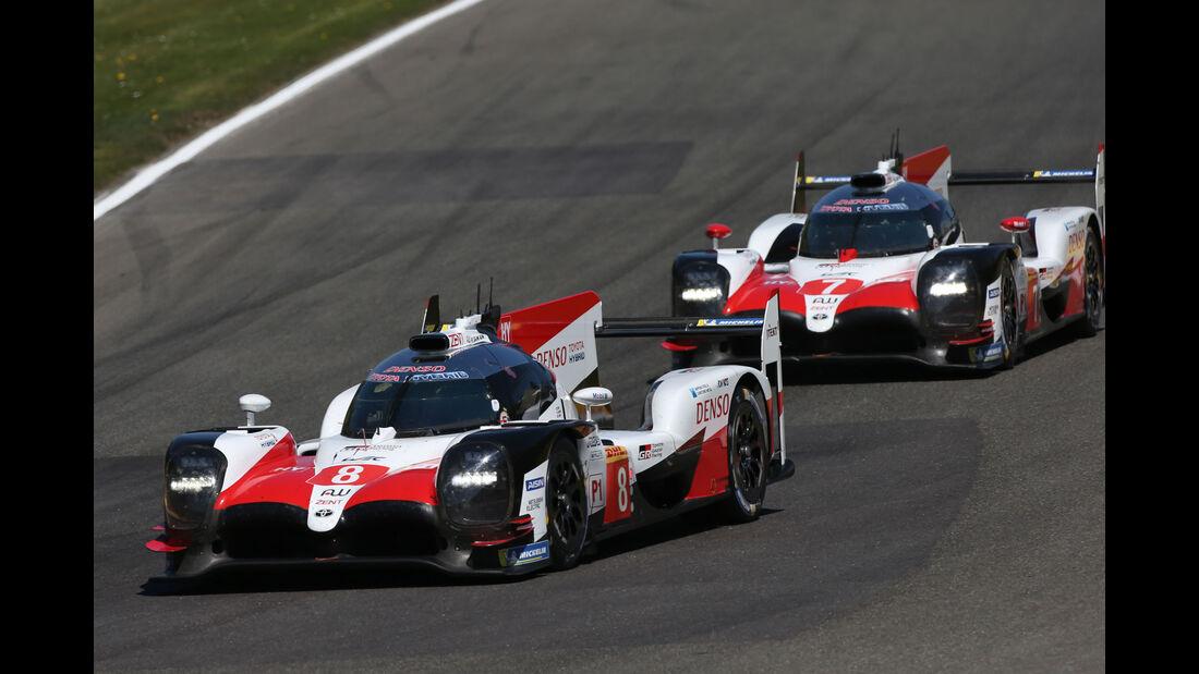 Toyota TS050 Hybrid - Sportwagen-WM - Spa-Francorchamps