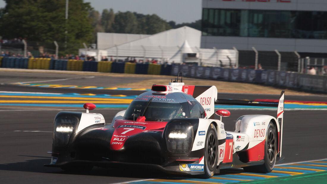 Toyota TS050 Hybrid - Startnummer #7 - 24h-Rennen Le Mans 2017 - 2. Qualifying