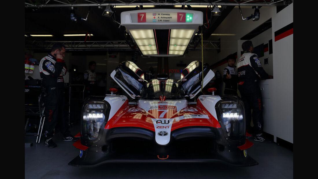 Toyota TS050 Hybrid - Startnummer #7 - 24h-Rennen Le Mans 2018 - Qualifying