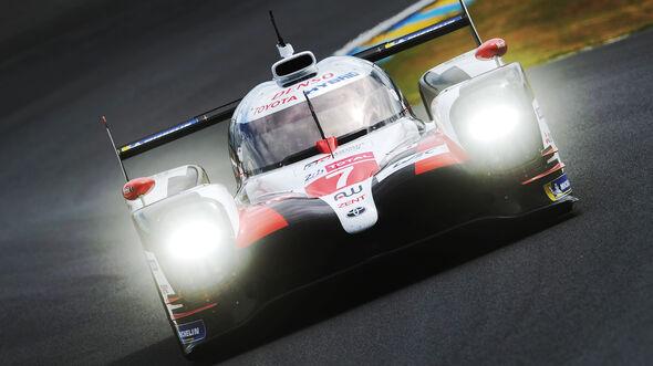 Toyota TS050 Hybrid - Startnummer 7 - 24h-Rennen Le Mans 2019
