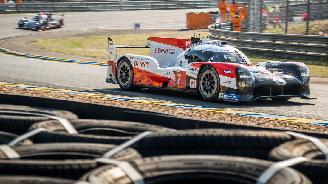 Toyota TS050 Hybrid - Startnummer #7 - 24h-Rennen Le Mans 2020