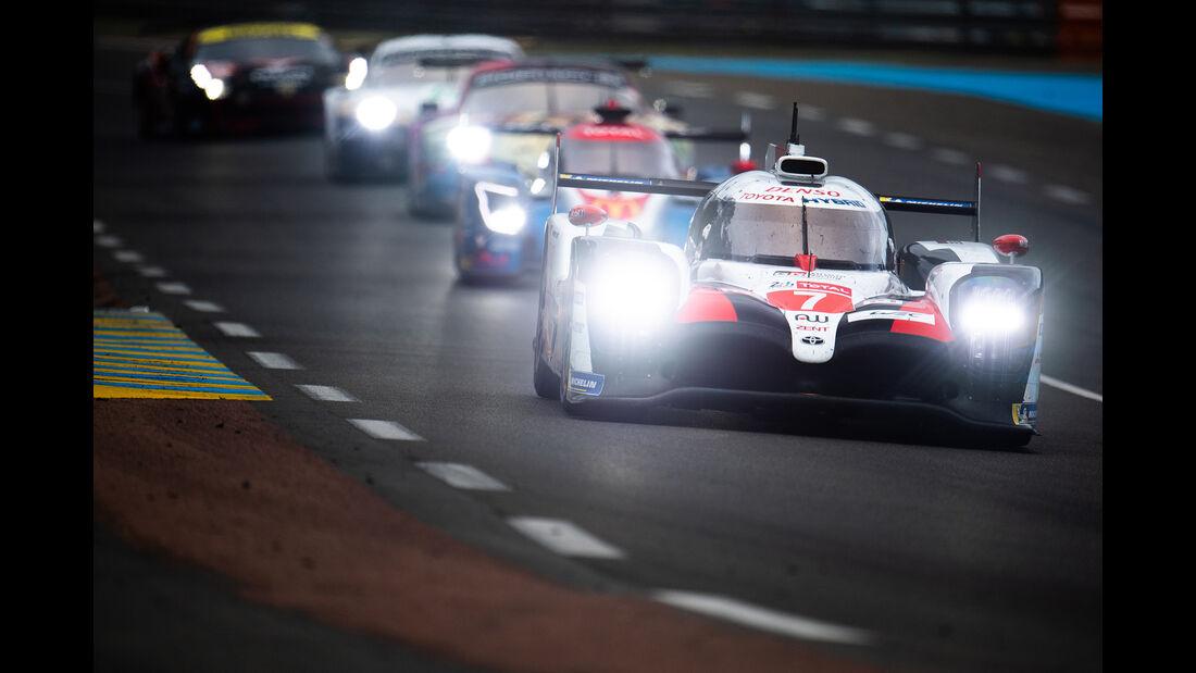 Toyota TS050 Hybrid - Startnummer #7 - 24h-Rennen Le Mans - Samstag - 15.06.2019