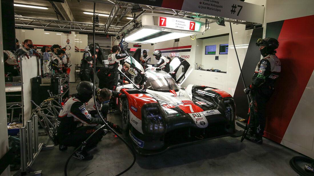 Toyota TS050 Hybrid - Startnummer #7 - Klasse: LMP1 - 24h-Rennen - Le Mans 2020