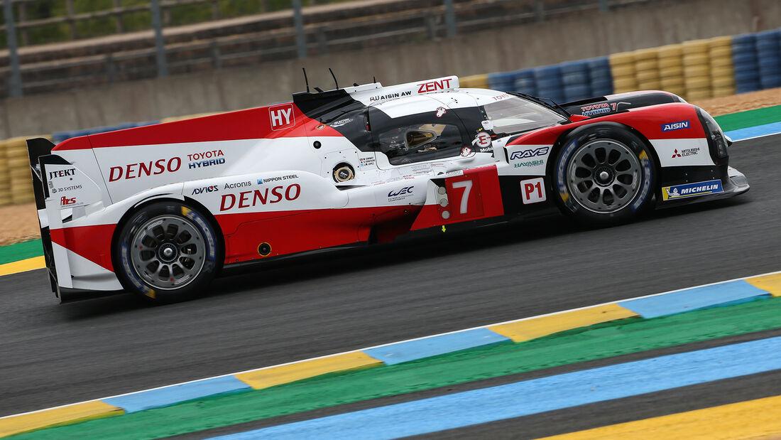 Toyota TS050 Hybrid - Startnummer #7 - Klassse: LMP1 - 24h-Rennen - Le Mans 2020
