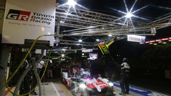 Toyota TS050 Hybrid - Startnummer #7 - Le Mans 2018