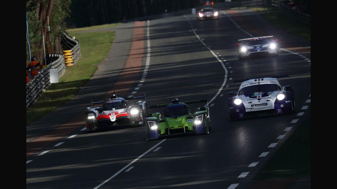 Toyota TS050 Hybrid - Startnummer #8 - 24h-Rennen Le Mans 2018 - Qualifying