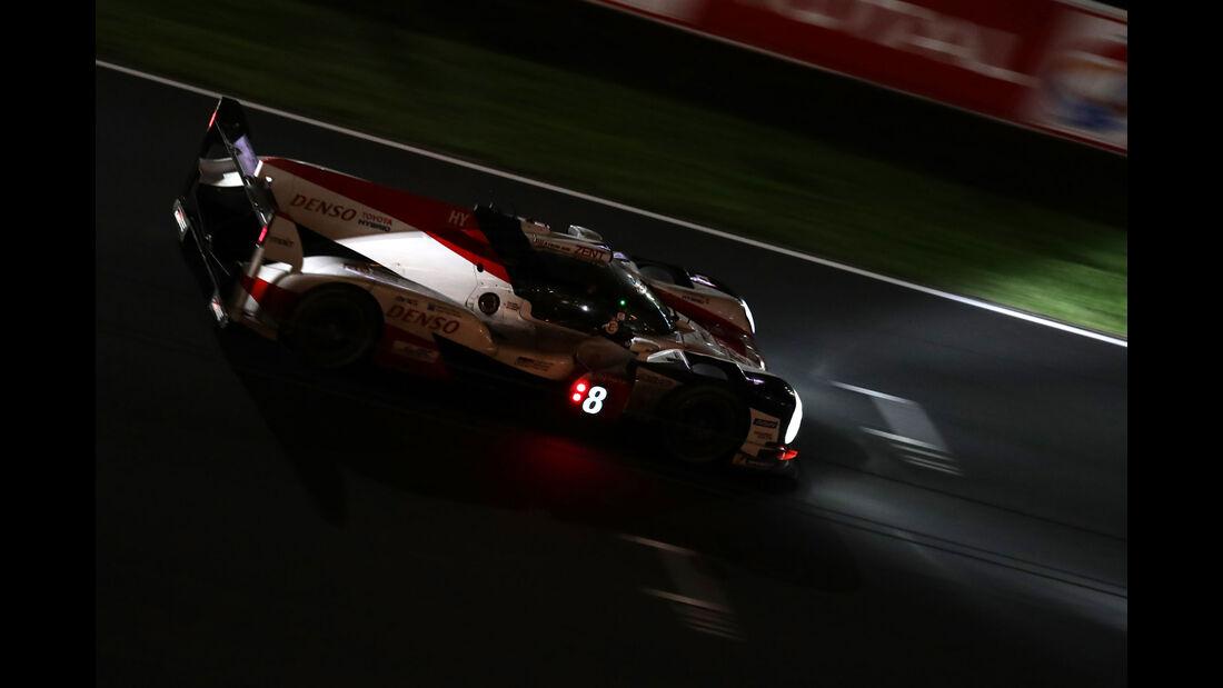 Toyota TS050 Hybrid - Startnummer #8 - 24h-Rennen Le Mans 2018 - Sonntag - 17.6.2018