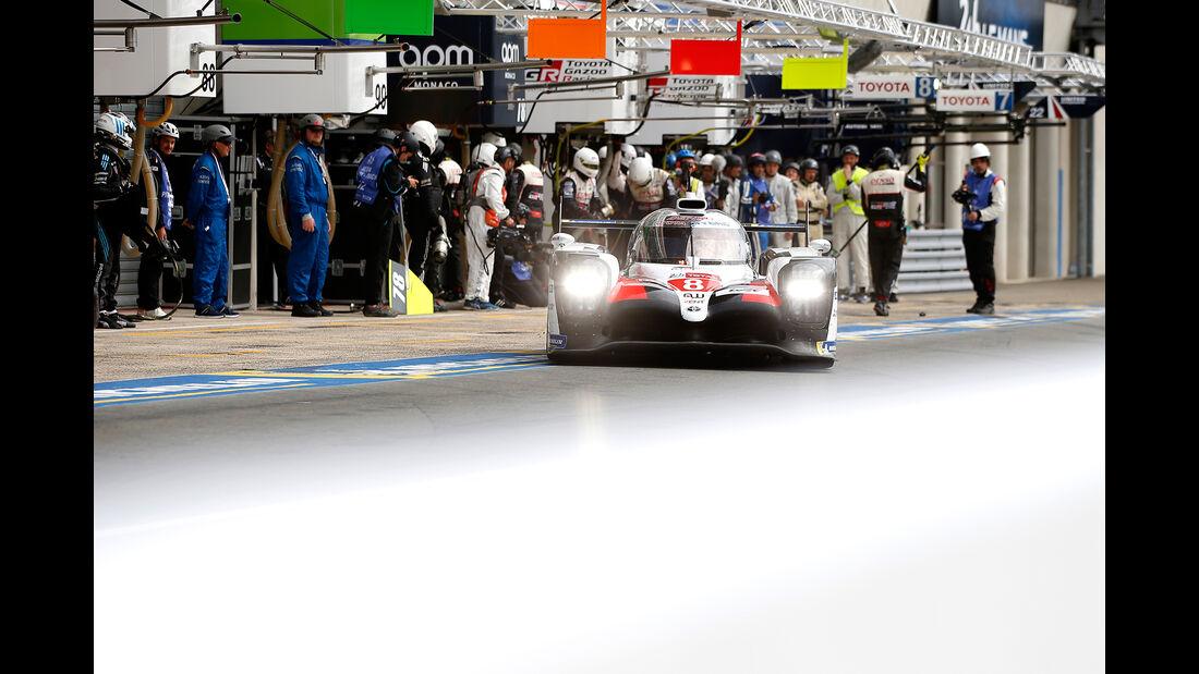 Toyota TS050 Hybrid - Startnummer #8 - 24h-Rennen Le Mans - Samstag - 15.06.2019