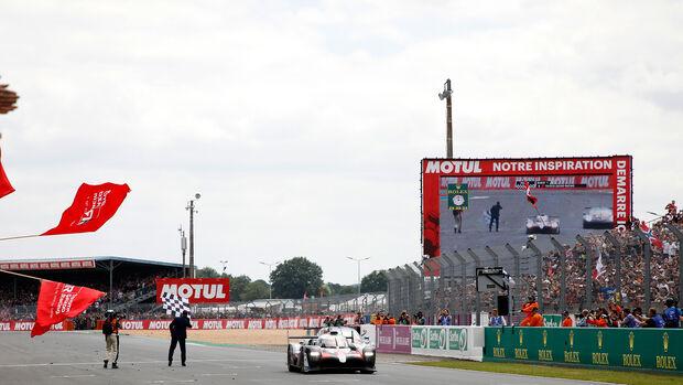 Toyota TS050 Hybrid - Startnummer #8 - 24h-Rennen Le Mans - Sonntag - 16.06.2019