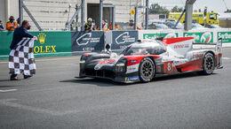 Toyota TS050 Hybrid - Startnummer #8 - Klasse: LMP1 - 24h-Rennen - Le Mans 2020