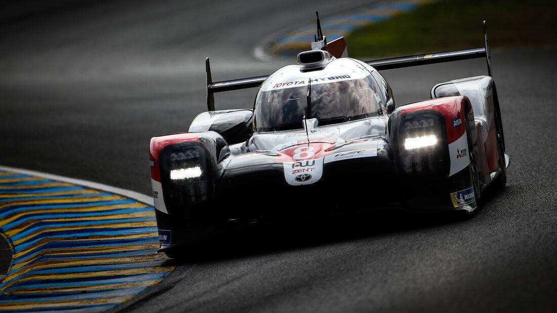 Toyota TS050 Hybrid - Startnummer #8 - Klassse: LMP1 - 24h-Rennen - Le Mans 2020
